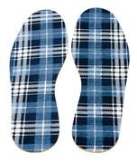 Flannel insoles Stock Photos