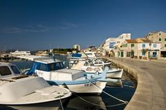 Stock Photo of View of Vodice waterfront
