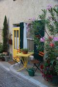 house in the provence - stock photo