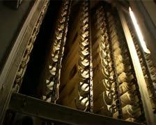 Сonveyor with long loaves Stock Footage