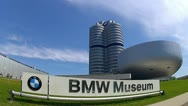 Munich bmw welt Stock Footage