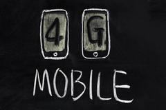 Stock Photo of 4g mobile communication technology
