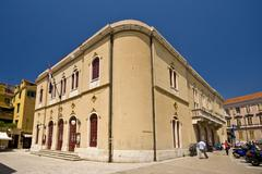 Sibenik national theatre - stock photo