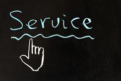Stock Photo of service