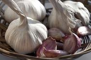 Stock Photo of garlic