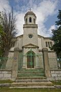 Ortodox church in Drnis Stock Photos