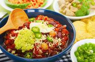 Mexican food selection Stock Photos