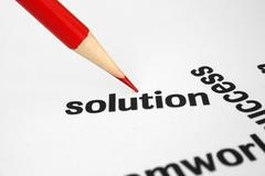 Stock Photo of solution