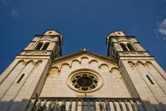 Orthodox church of St.Spiridon in Skradin Stock Photos