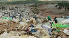 Garbage Waste dump - stock footage