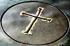 Metal Cross Stock Photos