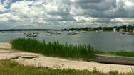Hens Cove Cape Cod Stock Footage
