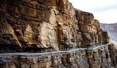 Stock Photo of serpentine road