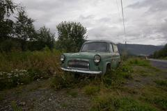 old anglia - stock photo