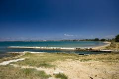 Coastline in Nin - stock photo