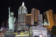 Stock Photo of new york in las vegas