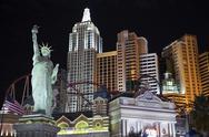 New york in las vegas Stock Photos