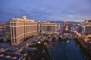 Stock Photo of bellagio dawn