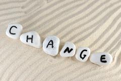 Stock Photo of change