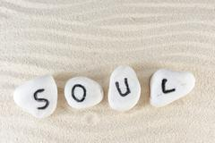 Stock Photo of soul word