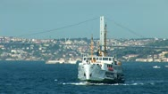 Stock Video Footage of Bosphorus ship