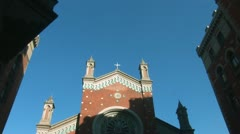 Church of St. Anthony of Padua, Istanbul -a Stock Footage