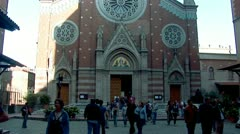 Church of St. Anthony of Padua, Istanbul -d Stock Footage