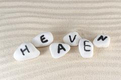 Stock Photo of heaven word