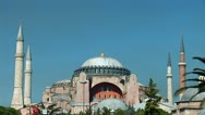Stock Video Footage of Aya Sofya (Hagia Sophia) b