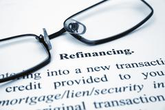 refinancing - stock photo