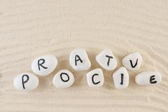 Proactive word Stock Photos