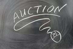 auction word - stock photo