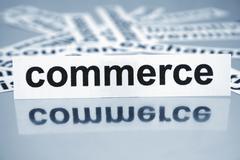 commerce - stock photo