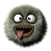 Hairy beast Stock Illustration