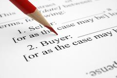 Stock Photo of buyer form