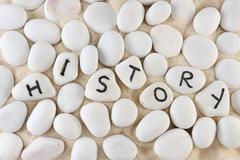 Stock Photo of history word