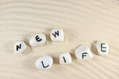 new life word - stock photo