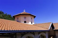 Kykkos monastery, cyprus Stock Photos