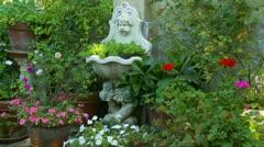 Italian Garden  (2) Stock Footage