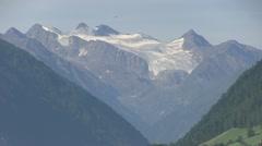 Austria - Tirol - Stubai Glacier Stock Footage