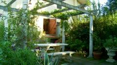 Italian Garden  (1) Stock Footage
