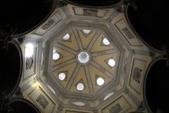 Dome of cathedral saint-sauveur d'aix in aix-en-provence Stock Photos