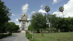 Killing Field National Monument, Cambodia Stock Footage
