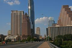 Austin Bridge - stock photo