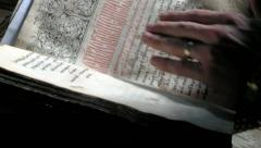 Old Bible - stock footage