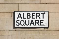 Albert Square Stock Photos
