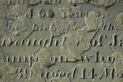 Weathered Grave - stock photo