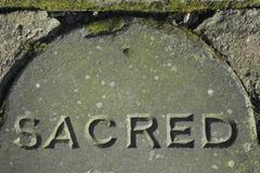 Sacred Stone - stock photo