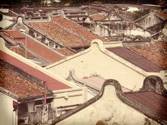 malacca  rooftops - stock photo