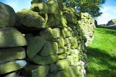 Countryside Wall - stock photo